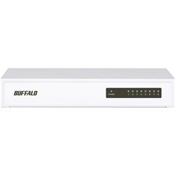 10/100Mbps対応 8ポート 電源内蔵 スイッチングHUB